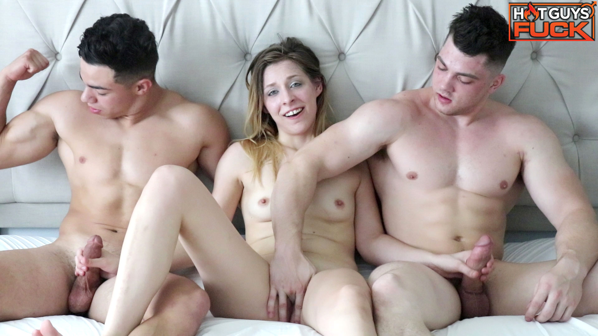 Two Guys One Girl Squirt
