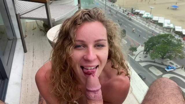 Creampie Anal On The Balcony In Rio De Janeiro Porn Images Sex Pics